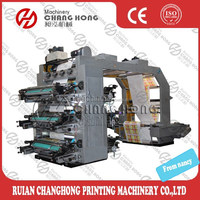 6 Colors Flexo Printing Machine De La Maquina De Impresion Flexografico