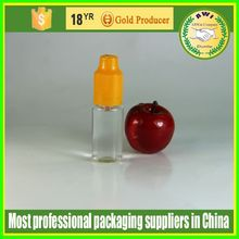 smoke oil cardboard shipping boxes for 10ml plastic pet E liquid plastic dropper bottle labels