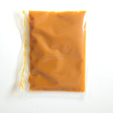 Yellow peach puree concentrate for fresh fruits pulp