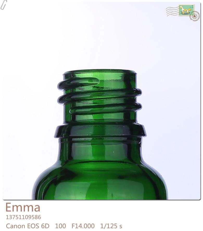 Essencial amostra de óleo garrafa/Atacado melhor garrafa de vidro/decorativos frascos de óleo essencial