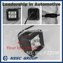 NSSC 20W Lifetime warratny LED day Driving Lights with CE RoHs & Emark