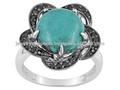 Hubei turquesa anillos de plata, 925 joyería de plata esterlina