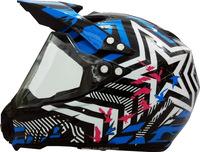 ABS helmet dot full face motorcycle torc motocross helmet Motocicleta casco
