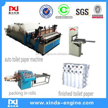 embossing point to point production full line new condition toilet tissue roll paper machine for sale SPB