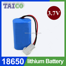 18650 Li-ion Battery 3.7V 4400mAh Used In Electric Torch