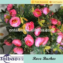 Po'di rosa grappoli artificiale per la decorazione home decor