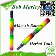 2015 new e cigarette kit Bob marley dry herb bob marley vaporizer bob marley hookah pen