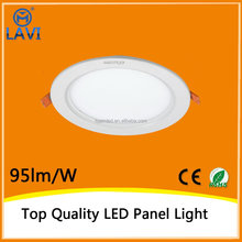 2015 new arrival high performance 4w 7w 10w 14w 18w round led panel light/led panel wall lighting