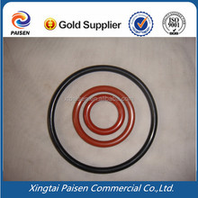 colorful medical silicone rubber seal band / NBR rubber o ring for bearing/electrical appliance