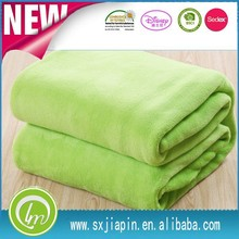 100%polyester 150D96F knitted super soft plain dyed solid color colorful home textile thick chunky coral fleece blanket