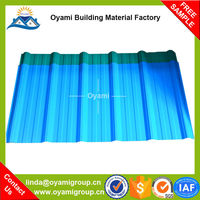 Free samples fadeless artificial extrusion plastic roof tile for construction