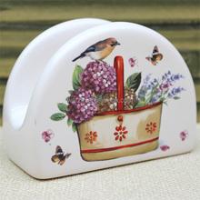Ceramic Tissue Box Holder With Lovely Design