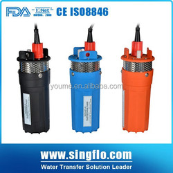 Singflo 6LPM solar powered submersible water pumps