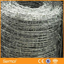 China Supplier High Tensile Galvanized Barbed Wire Fencing Prices