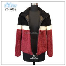 hot selling fashion 100% Australian imported sheep lamb fur pashm cashmere coat and men's jacket