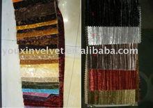 crush velvet;line crush velvet;stripped velvet for curtain and sofa fabric