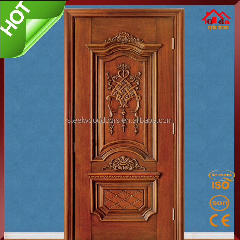 Bedroom entry main teak wood door design buy teak wood for Teak wood doors designs