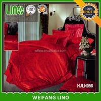 jacquard satin bedding linen/custom printed bed sheets/bed sheet hand work
