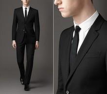 italiano de prendas de vestir de los hombres de los hombres de calidad color sólido fomal traje de conjunto