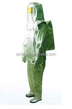 High Quality CE Approved Light Aluminized Fire Fighting Suit
