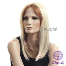 E- KAR NAWOMI Synthetic Kanekalon Toyokalon Fiber Highlighted Wigs