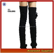 Femmes belle jambières / Custom Design différents décoration femmes belle sur Knee High Leg Warmer