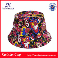 country flag bucket hat