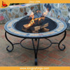 Real stone garden table fire pit/Mosaic table fire pit