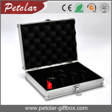 hot selling aluminum tool box for USB packaging