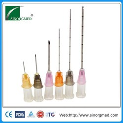 Disposable Injection Micro Needle 27G for Hyaluronic Acid Filler