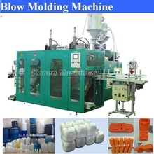 China made plastic jerry can production blow molding machine