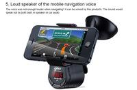 Mutifunction fm transmitter for radio station Cell Phone Car Holder