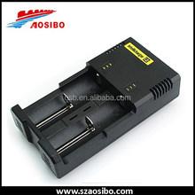 Cheaper Shipping!!! Nitecore I2 charger 2 bay 18650 charger Nitecore universal battery charger 9v