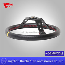 China Supplier for Drifting Performance Racing Deep Corn Carbon Fiber 350mm Steering Wheels Universal (RC-5125TQ)