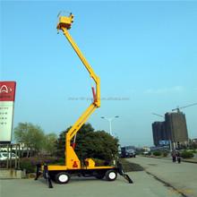8 M diesel ou électrique araignée ascenseur mobile genie boom lift