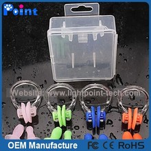 Packed nose clip earplug suit swimming set for swimming