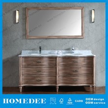 Modern lowes hotel bathroom vanity cabinet with water paint
