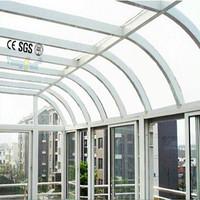 Prefabricated Energy Saving Sunroom,Variety Shaped Glass Room