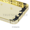 2015 new design for iphone 5/5s rose gold diamond housing, for gold plating housing