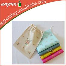 wholesale canvas plastic drawstring cinch bag
