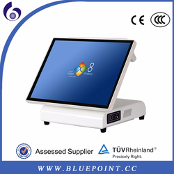 made in china high-end all in one 15 inch folding touch pos machine