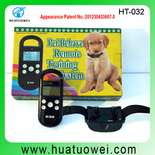 Best Remote Control 3 Dog Training Shock and Vibration Collar, Pet Training Products With CE