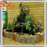 stone buddha modern garden fountain fiberglass marble rockery artificial stone