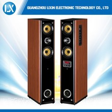 China factory price and 2.0 ch multimedia floor stand speaker 8""