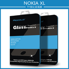 In Stock 0.33mm 2.5D 9H Hardness Protective Film For Mobile Phone For Nokia XL With Mocolo Retail Box