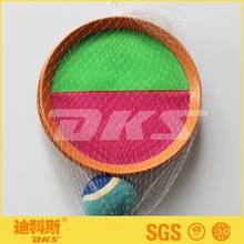 Plástico sunction bola catch juego / catch velcro juego de pelota