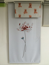 popular no screw roller blind / window curtain make in China