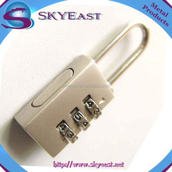 High Quality Luggage 3 Digit Combination Metal Padlocks