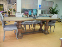 Wooden dining table reclaimed wood solid slab dining tables