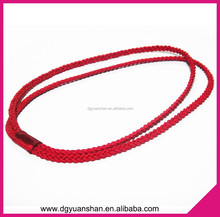 Hot sale elastic braided headband,2 in 1 hair accessories
